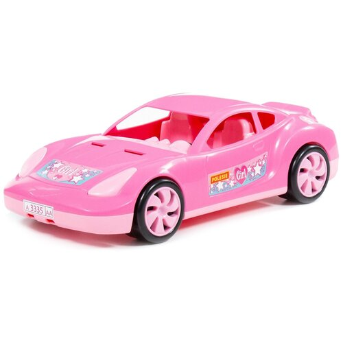 Фото - Легковой автомобиль Полесье Торнадо (78582), розовый легковой автомобиль mattel