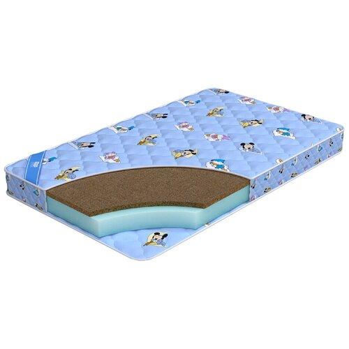 Фото - Матрас детский Промтекс-Ориент Biba Стандарт Кокос, 70x160 см, голубой матрас детский промтекс ориент teen стандарт 70x160 пружинный голубой