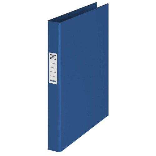 Фото - DURABLE Папка на 2-х кольцах с торцевым карманом A4, ПВХ, 35 мм синий brauberg папка на 2 х кольцах a4 картон пвх 35 мм синий