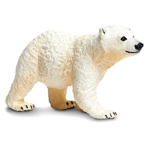 Фото - Фигурка Safari Ltd Белый медвежонок 273429 фигурка lefard медвежонок 476 134 белый
