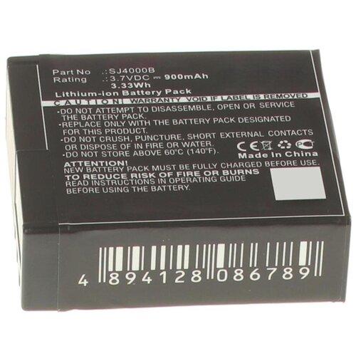 Фото - Аккумулятор iBatt iB-U1-F441 900mAh для SJCAM SJ4000, аккумулятор sjcam для sj6 legend