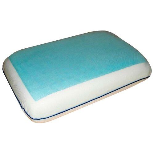 Подушка Arya ортопедическая Гелевая Memory Foam 30 х 50 см белый