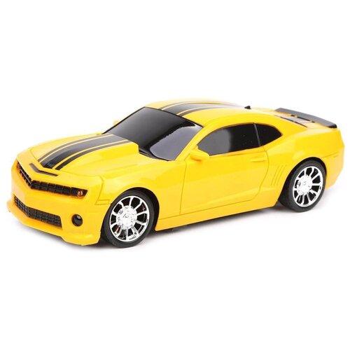 Легковой автомобиль Mei Dus Xing Спортивная (YY-21) 1:16 26 см желтый