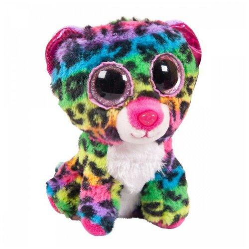 Купить Мягкая игрушка ABtoys Леопард мультиколор 15 см, Мягкие игрушки