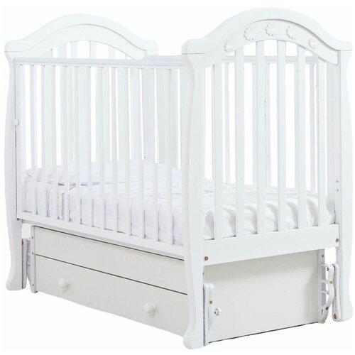 Кроватка Гандылян Джозеппе (классическая), универсальный маятник белый кроватка гандылян даниэль классическая универсальный маятник белый