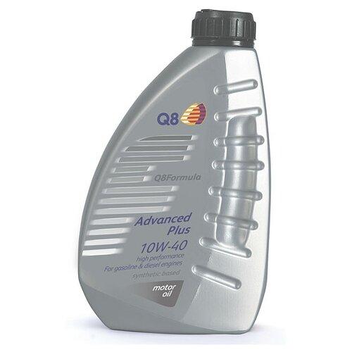 Полусинтетическое моторное масло Q8 Formula Advanced Plus 10W-40, 1 л