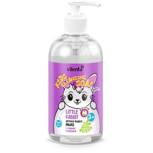 Vilenta Детское жидкое мыло Little Rabbit с малиной и ежевикой, 300 мл