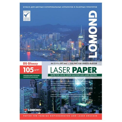 Фото - Бумага Lomond A4 105g/m2 Глянцевая 250 листов Lom_0310641 бумага lomond a4 215г кв м глянцевая 50л 0102057