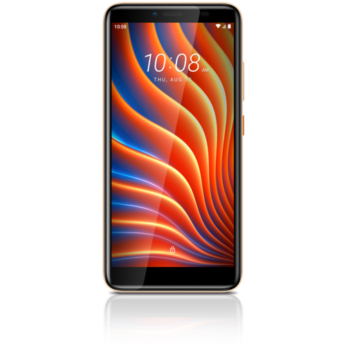 Смартфон HTC Wildfire E золотистый