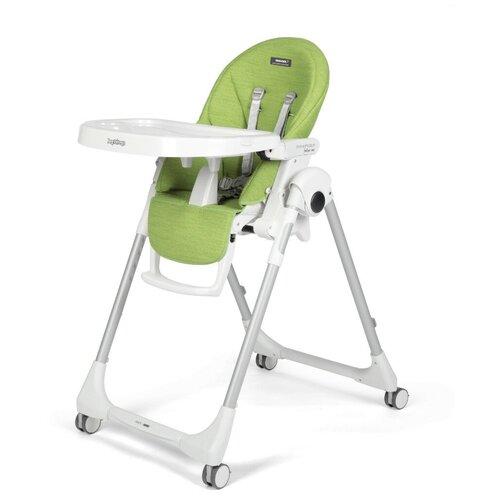 Стульчик для кормления Peg-Perego Prima Pappa Follow Me wonder, green стульчик для кормления peg perego prima pappa follow me экокожа ice