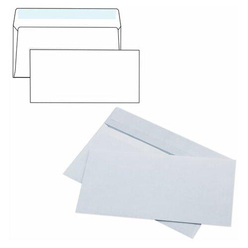 Конверт почтовый E65 KurtStrip (110x220, 80г, стрип) белый, 1000шт. (Е65.01С)