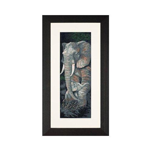 Купить Набор для вышивания LANARTE №020 PN-0008232 (34962A) Слоны 18х55 см 1 шт., Наборы для вышивания