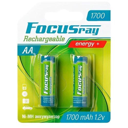 Фото - FOCUSray 1700 mAH AA 2/24/288 аккумулятор аккумулятор aa fujitsu hr 3utceu 4b 1900 mah 4 штуки