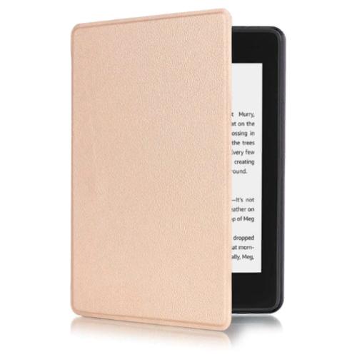 Чехол-обложка MyPads для Amazon Kindle PaperWhite 4 2018/ Kindle 10 2020 из качественной эко-кожи с функцией включения-выключения и возможностью быстрого снятия золотой