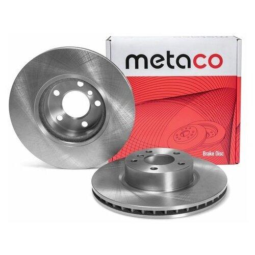 Диск тормозной передний вентилируемый (Производитель: METACO 3050260)