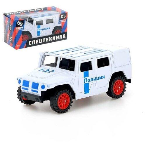 Фото - Машина инерционная Автоград Тигр Полиция (4409985) автоград машина инерционная тигр мчс sl 02761p 4409984