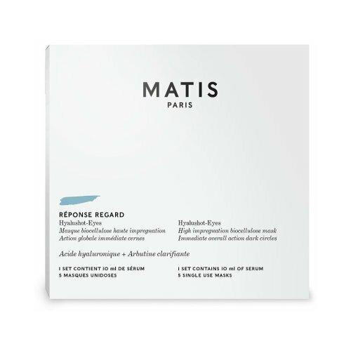 Купить Matis REPONSE REGARD Биоцеллюлозная маска с гиалуроновой кислотой против темных кругов под глазами, 10 мл х 5 шт.