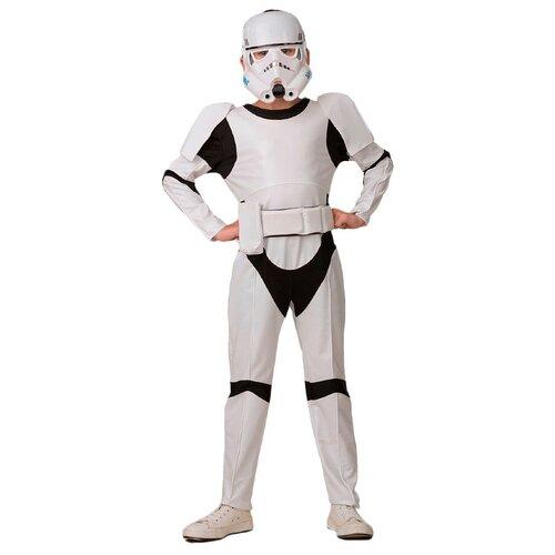 Купить Костюм Батик Штурмовик (7041), белый, размер 134, Карнавальные костюмы