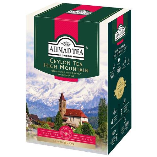 Чай черный Ahmad tea Ceylon tea F.B.O.P.F. high mountain, 200 г чай ahmad tea ceylon tea op черный 100 г