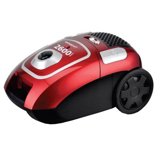 Пылесос MAGNIT RMV-1656, красный/серый