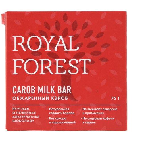 Фото - Шоколад ROYAL FOREST молочный из обжаренного кэроба, 75 г шоколад royal forest молочный из обжаренного кэроба 75 г