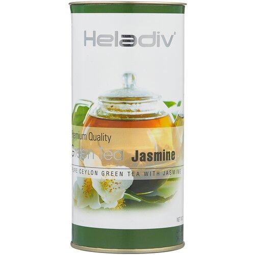 чай зеленый heladiv pekoe green tea soursop 250 г 1 уп Чай зеленый Heladiv Premium Quality Green Tea Jasmine, 100 г, 1 уп.
