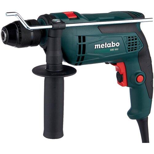 Дрель ударная Metabo SBE 650 (БЗП) 650 Вт дрель ударная metabo sbe 760 звп case 760 вт