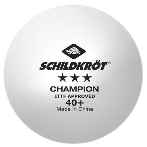 набор для настольного тенниса start up bb01 3 star Набор для настольного тенниса Donic-Schildkroet Champion 3 star Poly 40+ white