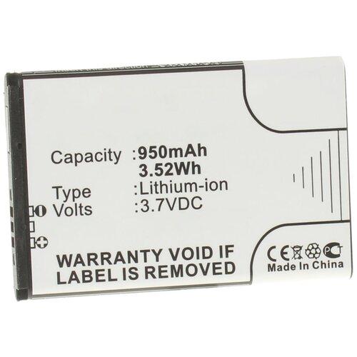 Аккумулятор iBatt iB-U2-M278 950mAh для Samsung GT-S5560, GT-C3200, GT-C6112, GT-C3510, REX 80, GT-S3370, S3650 Corby, REX 70,
