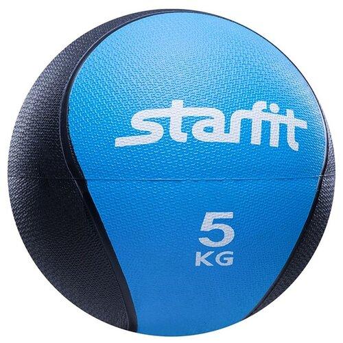 Медбол Starfit Pro GB-702 22.8cm Blue-Black УТ-00007303
