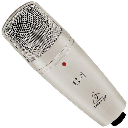 Микрофон BEHRINGER C-1, бежевый