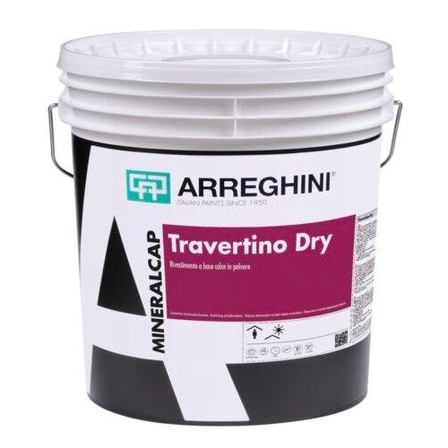 Декоративное покрытие CAP ARREGHINI Travertino Cap Dry белый 6 кг