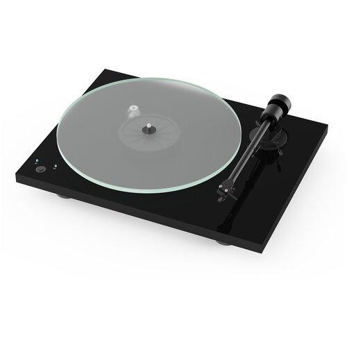 Виниловый проигрыватель Pro-Ject T1 Phono SB (OM 5E) Piano Black виниловый проигрыватель pro ject juke box e piano black om 5e