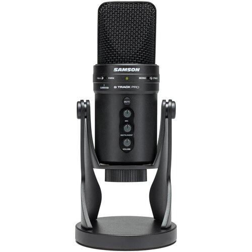 Микрофон Samson G-Track Pro, черный