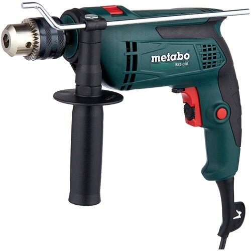 Дрель ударная Metabo SBE 650 (ЗВП) 650 Вт дрель ударная metabo sbe 760 звп case 760 вт