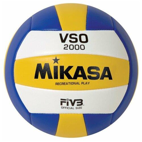 Волейбольный мяч Mikasa VSO2000 белый/желтый/синий