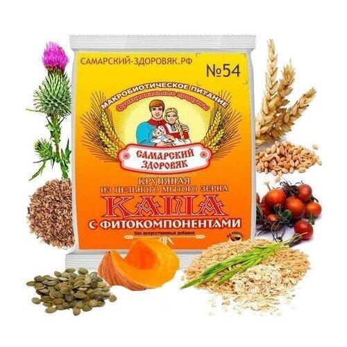 Самарский здоровяк Каша №54 пшенично-овсяная с шиповником и тыквой, 240 г