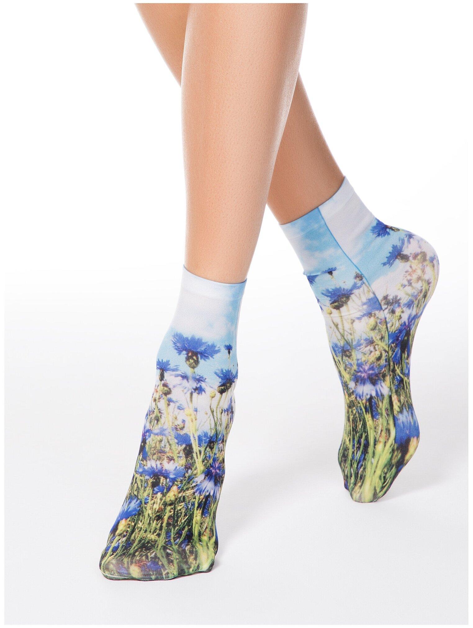 Капроновые носки Conte Elegant Fantasy 17С-34СП 002 — купить по выгодной цене на Яндекс.Маркете