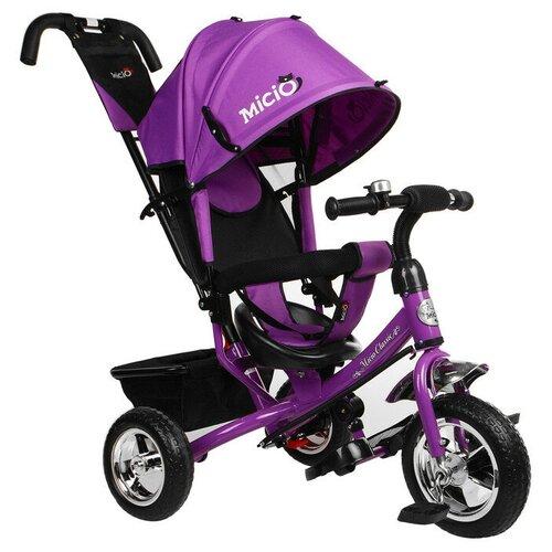 Купить Трехколесный велосипед Micio Classic Eva 2019, фиолетовый, Трехколесные велосипеды