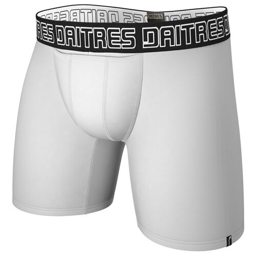 Daitres Трусы боксеры удлиненные с профилированным гульфиком Long+ Bamboo, размер S/46, белый