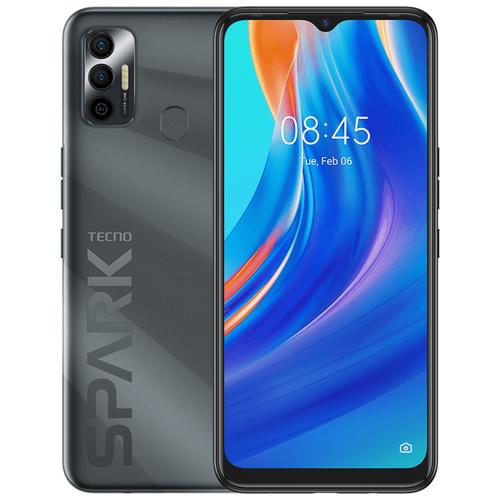 Смартфон TECNO Spark 7 4/64GB черный