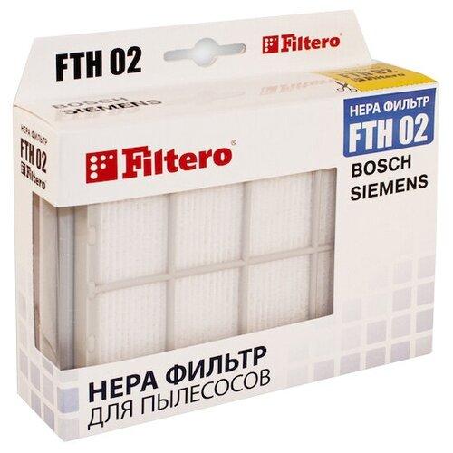фильтр filtero fth 02 bsh hepa для bosch siemens Filtero HEPA-фильтр FTH 02 1 шт.
