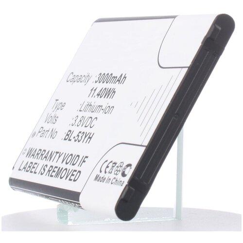 Аккумулятор iBatt iB-U1-M718 3000mAh для LG D855 G3, D690, D690 G3 Stylus, D850 G3, G3 Screen, D851 G3, D856 (LG G3 Dual-LTE), D690N,