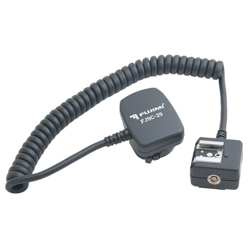 Фото - Fujimi FJSC-29 кабель TTL для вспышек Nikon с встроенной ИК подсветкой автофокуса fujimi fjs 60 портативный софт бокс для вспышек 60x60 см