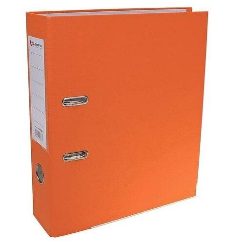 Папка-регистратор А4, 80 мм, PP Lamark, оранжевый, металлический уголок, разобранный, TGS-642500