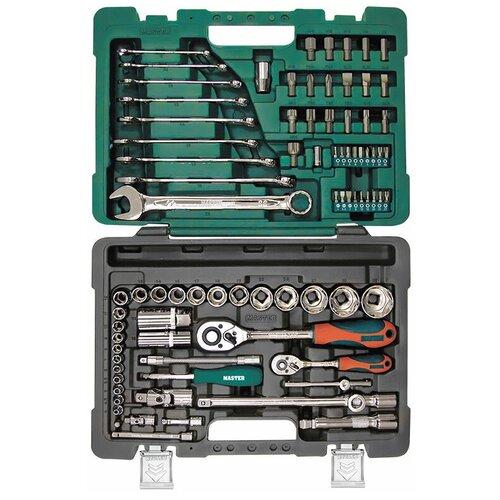 Набор автомобильных инструментов Master 408184, 82 предм.
