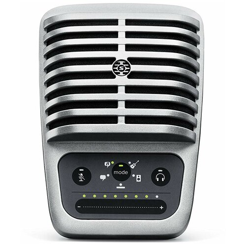 Микрофон Shure Motiv MV51, серебристый