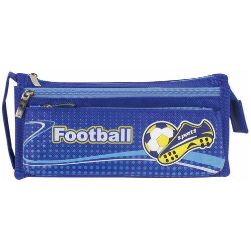 Юнландия Пенал Футбол, синий недорого