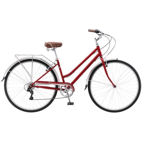 Городской велосипед Schwinn Wayfarer Womens dark red 17.5