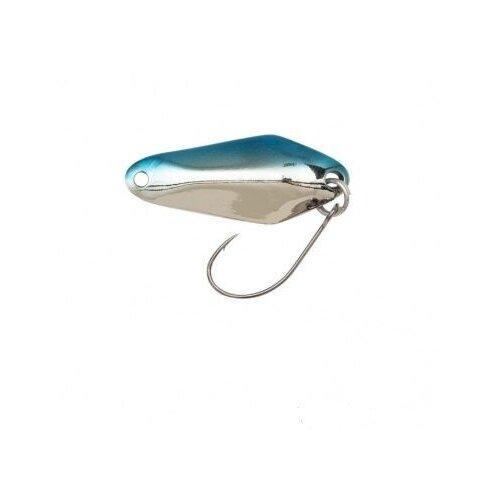 Блесна колеблющаяся Berkley AGS CHISAI 2.8gr 2.87cm EDGE STRIPE SILVER/BLUE/SILVER